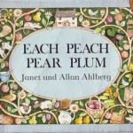 cover art for each peach pear plum
