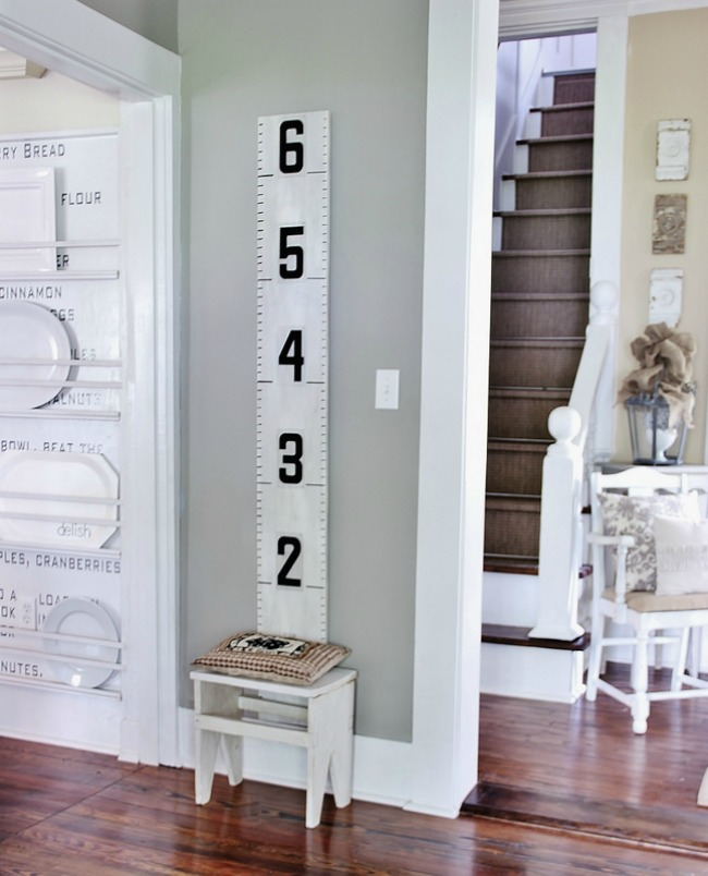 Growth Chart Vintage