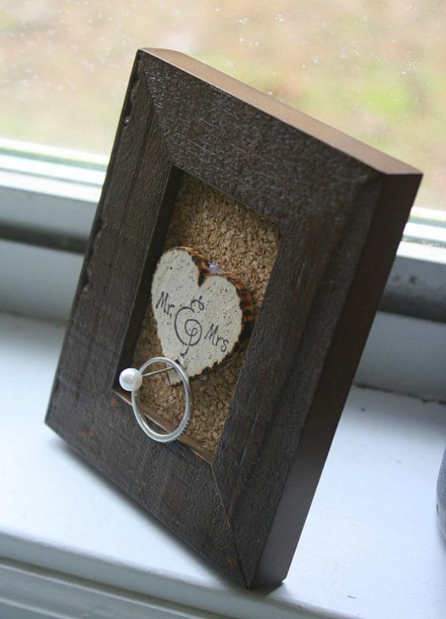 Wedding Ring Holder Frame