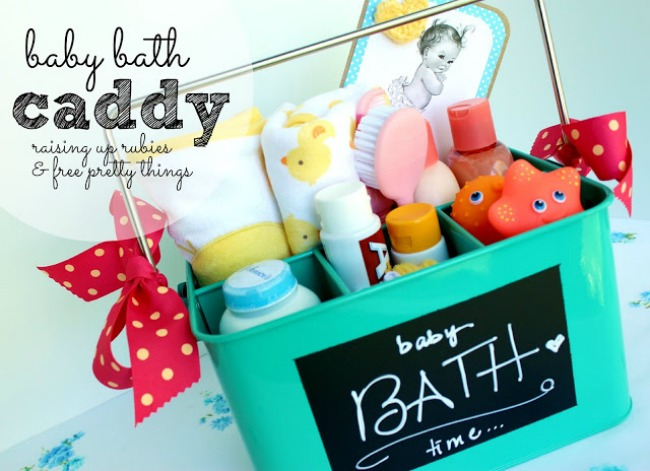 bath caddy for baby ♥ raising up rubies & free pretty things
