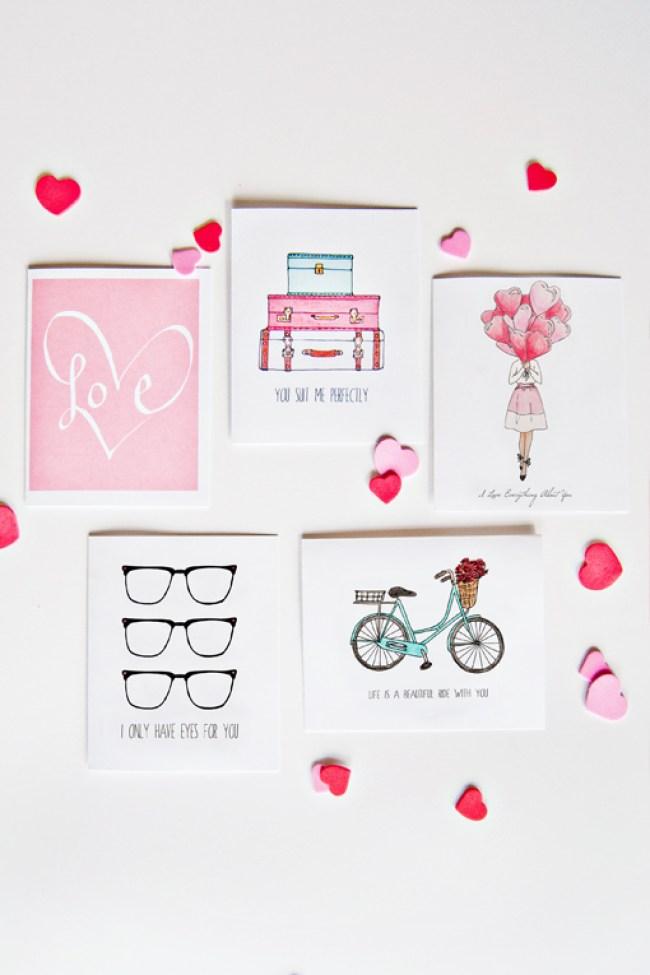 Valentines cards web
