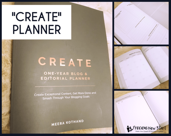 """""""CREATE"""" Blog and Editorial Planner Review"""