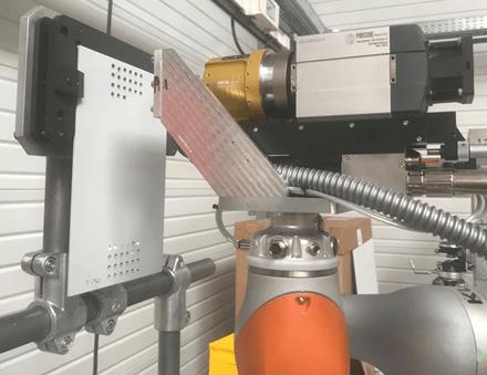 Essais de perçage orbital robotisé du projet européen RODEO