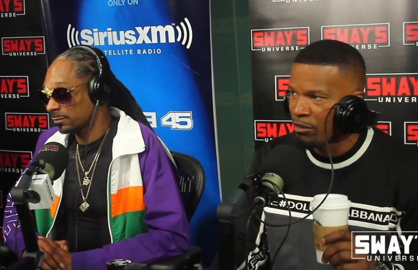 #Snoop #Dogg #Creates A #Song On The #Spot with #Jamie #Foxx and Compares