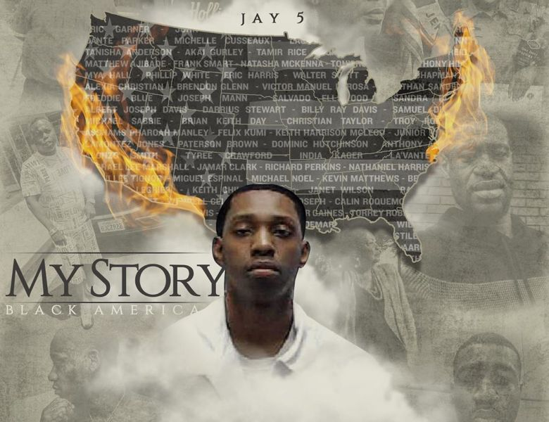 "Jay5 Raps About Being A Black Man In America On ""My Story"""