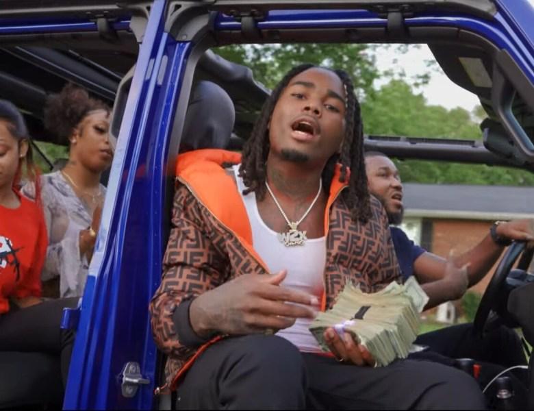 "D Glory Stunts Hard In His Video For ""Million Dollar N*gga"""