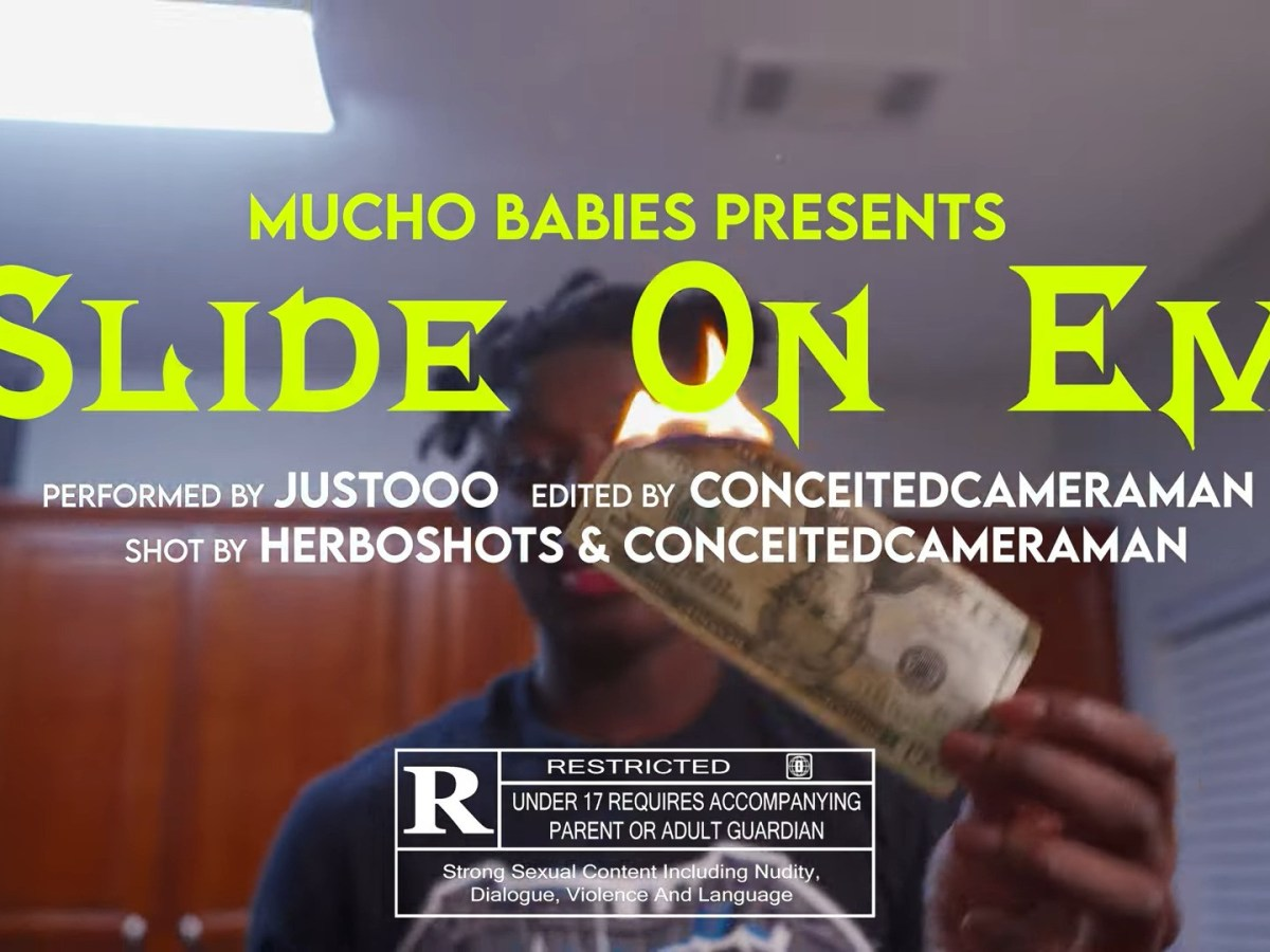 """Justooo Calls Up The Gang In """"Slide On Em"""""""