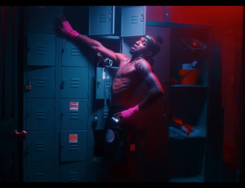 "Voochie P Goes Boxing Crazy In ""Champ"" Video"