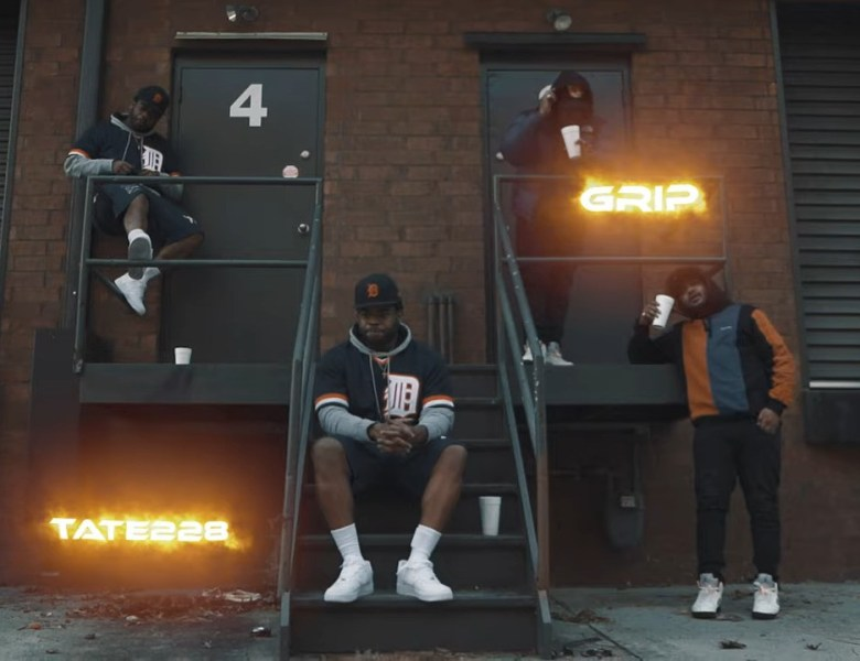"""TATE228 & Grip Step Out In The Smoke For """"Livin"""" Video"""