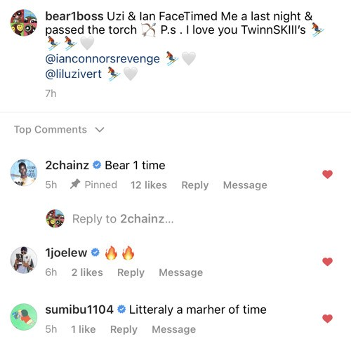 BEAR1BOSS Claims He Spoke To Ian Connor & Lil Uzi Vert On The Phone In His New Record