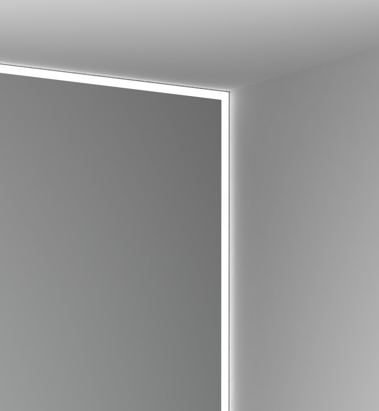 zenlite 1 inch perimeter lighting system for new construction 5 8 drywall walls ceilings