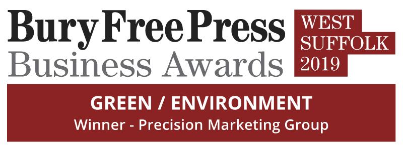 Bury Free Press West Suffolk Business Awards 2019 - Green/Environment Winner: Precision