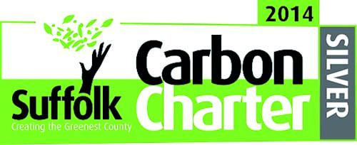 Suffolk carbon charter 2014 silver award