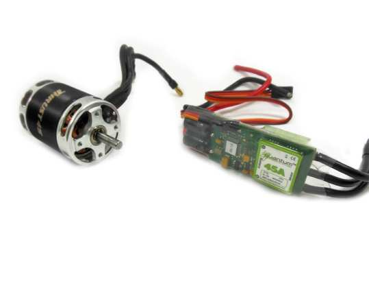 Motors and Speed Controllers