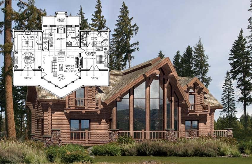 Milled Log Homes PrecisionCraft Log Homes