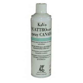 KaVo QUATTROcare Plus Lubricant Spray (6 cans) for dental handpiece maintenance
