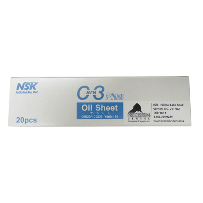 NSK Care 3 Plus Oil Absorber Sheet for dental handpiece maintenance system