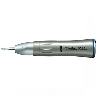 NSK Ti-Max X65L 1:1 Nosecone Straight Optic Slowspeed Handpiece Attachment