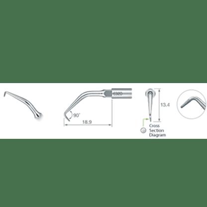 NSK Varios Ultrasonic Scaler Endo Tip E32D