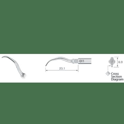 NSK Varios Ultrasonic Scaler Tip G11