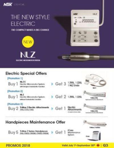 NSK's Quarter 3 2018 Flyer