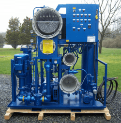 Custom-Built Vacuum Dehydrator | Precision Filtration Products