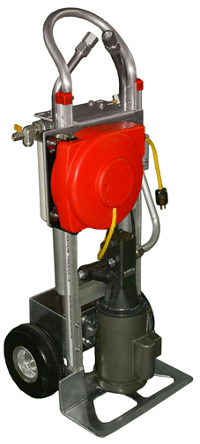 Portable Hydraulic Oil Filter Cart with Spin-On Filters
