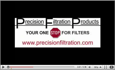 Industrial & Commercial Filter Videos | Precision Filtration Products