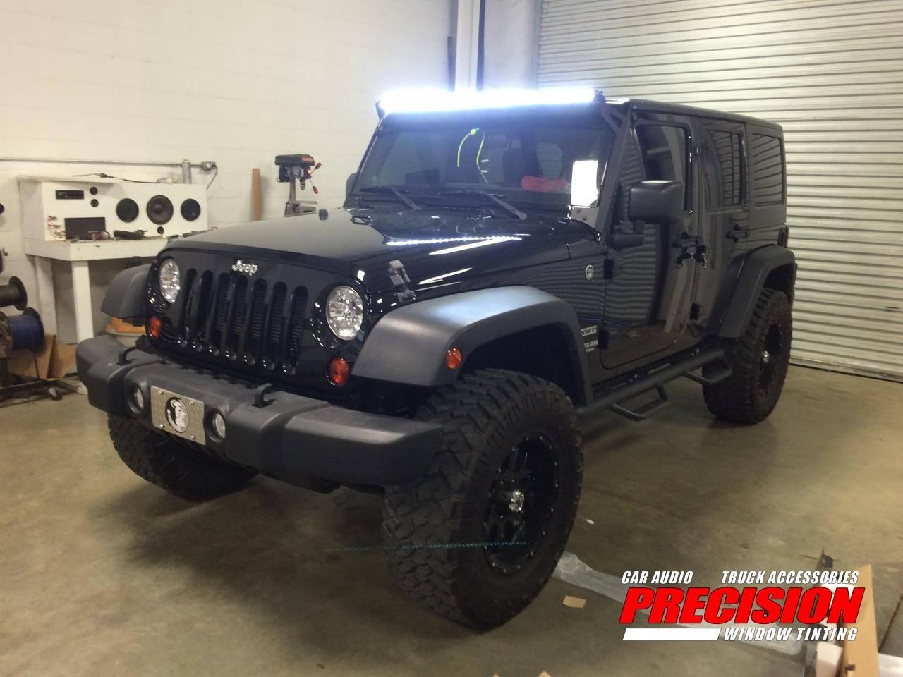 2012 Jeep Wrangler LED Light Bar, Wheels&Tires, NFAB Step Bars ...
