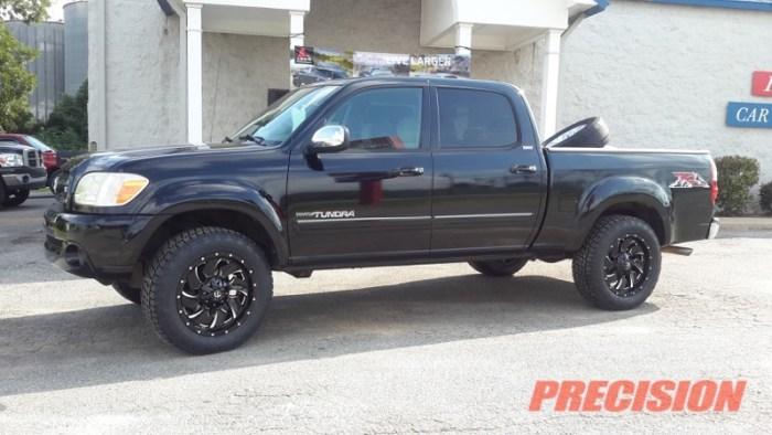 Black Toyota Tundra Fuel Wheels Nitto Tires-0