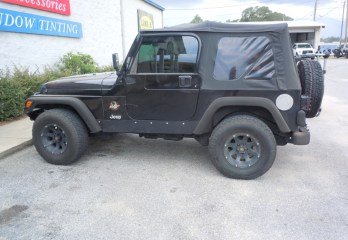 Jeep Wrangler Line-X