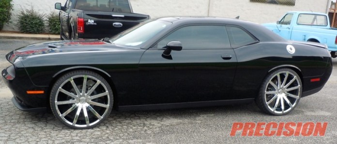 Dodge Challenger Wheel and Tire Upgrade
