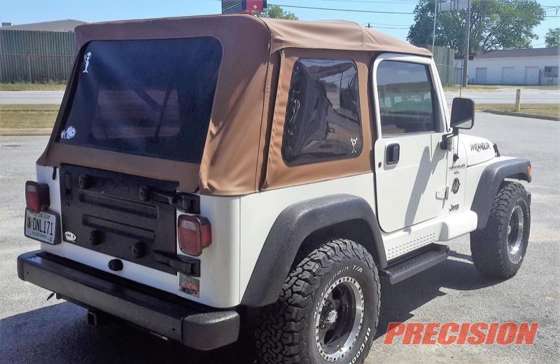 Jeep Wrangler Sahara Line-X Upgrades