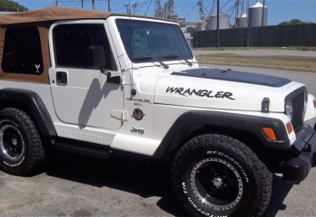 Jeep Wrangler Sahara Line-X Upgrades for Donalsonville Client
