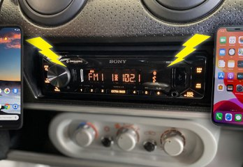 A Look at Car Radios with Dual Phone Bluetooth Support