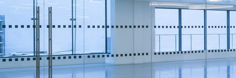 Array of office partitioning