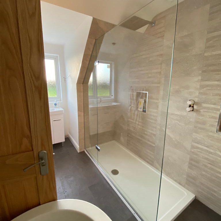 Shaped shower screen Crawley