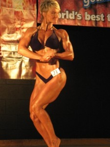 Lean Eating Coach Krista Schaus On Stage