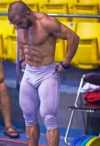 weightlifter myofibrillar