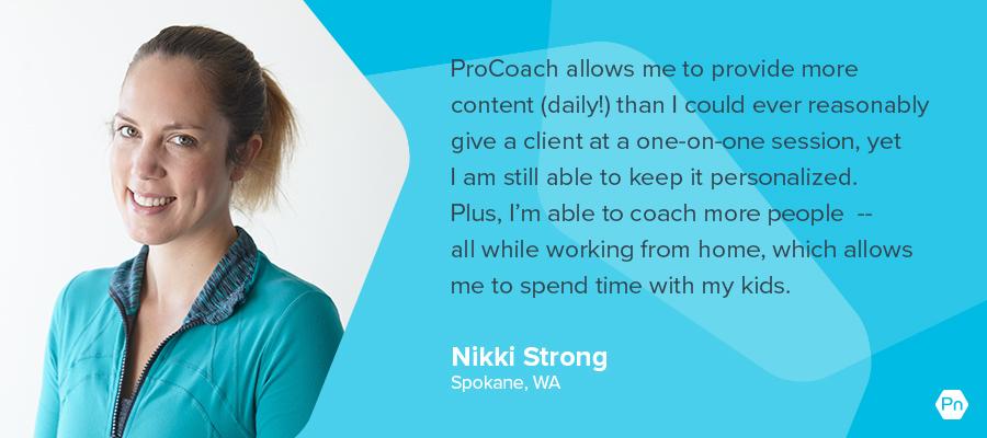 Nikki Strong - testimonial card