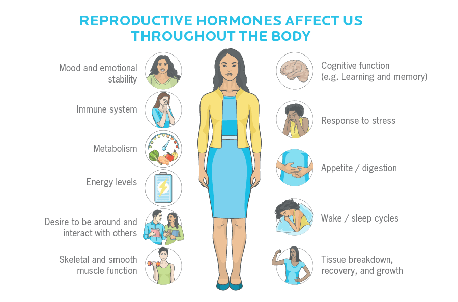 How hormones can impact how we feel, behave, function, and more.