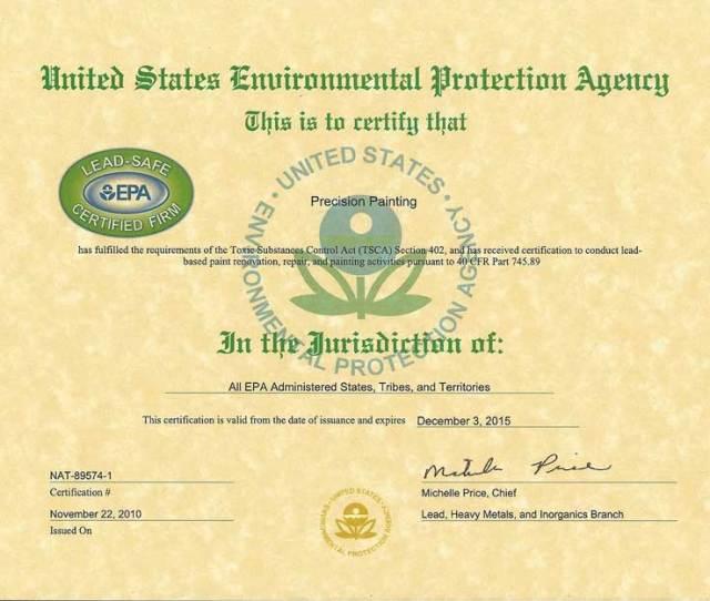 Epa Lead Safe Certified Renovator Refresher 2015