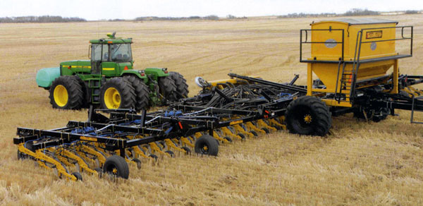 Central Alberta Precision Seeding Seedmaster Drills