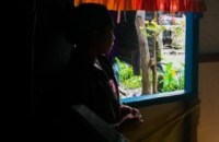Lyn, not her real name, 14 years old, was rescued from human traffickers in Samar a year ago. LOTTIE SALARDA/InterAksyon.com