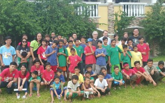 Happy Kids at Preda Boys Home