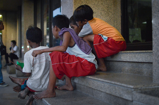 Incoming president Rodrigo Duterte plans to lower the minimum age for criminal responsibility for minors following reports a growing number of street children are involved in criminal activities. (ucanews.com photo by Eloisa Lopez)