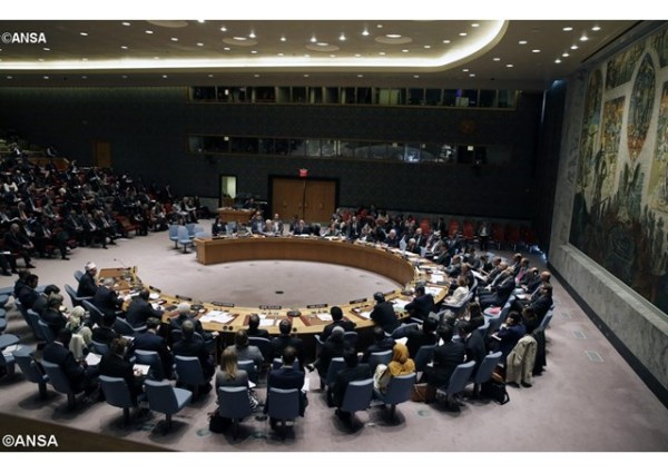 A meeting of the United Nations Security Council in New York. - ANSA
