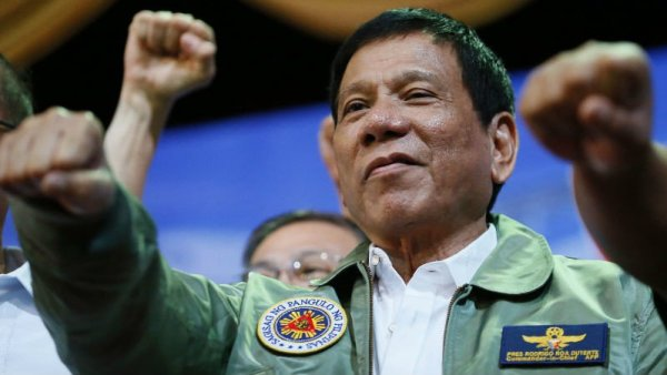 Philippine President Rodrigo Duterte AP Photo/Bullit Marquez, File