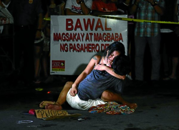 Amnesty International said on Wednesday, Feb. 1, 2017, that the government of President Rodrigo Duterte ordered or paid killers in a wave of 'extrajudicial executions' in the country. RAFFY LERMA / PHILIPPINE DAILY INQUIRER