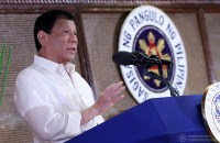 President Rodrigo Duterte severely criticized two media organizations during the oath-taking ceremony of the newly-appointed government officials and the new officers of the Philippine Councilors' League (PCL) at the Heroes Hall in Malacañan Palace on March 30, 2017. PCOO/Richard Madelo